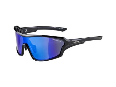 Alpina Lyron Shield P Black/Blue Mirror