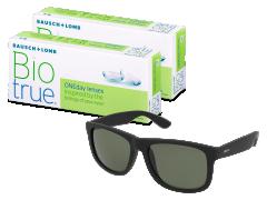 Biotrue ONEday (2x 30 čoček) + sluneční brýle Alensa ZDARMA