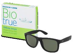 Biotrue ONEday (90 čoček) + sluneční brýle Alensa ZDARMA