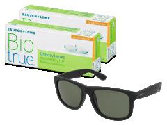Biotrue ONEday for Astigmatism (2x 30 čoček) + sluneční brýle Alensa ZDARMA