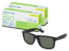 Biotrue ONEday for Presbyopia (2x 30 čoček) + sluneční brýle Alensa ZDARMA