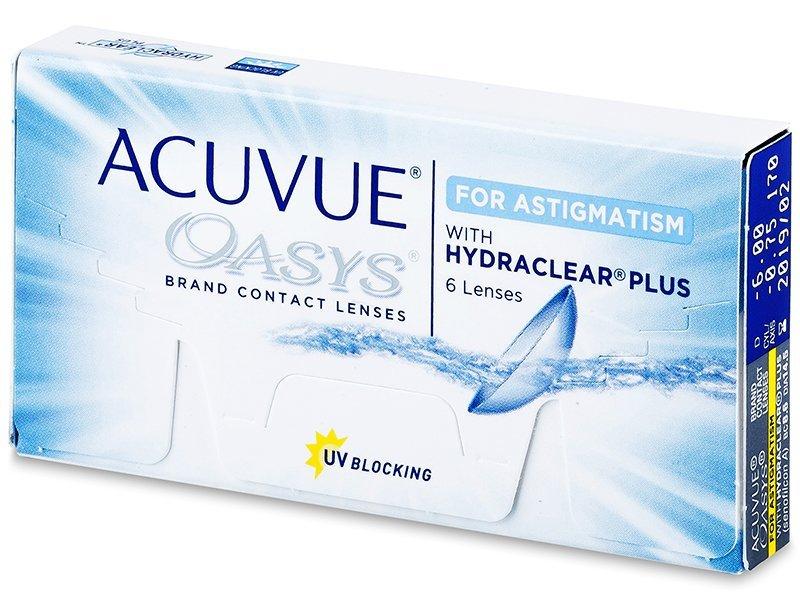 Acuvue Oasys for Astigmatism (6čoček)