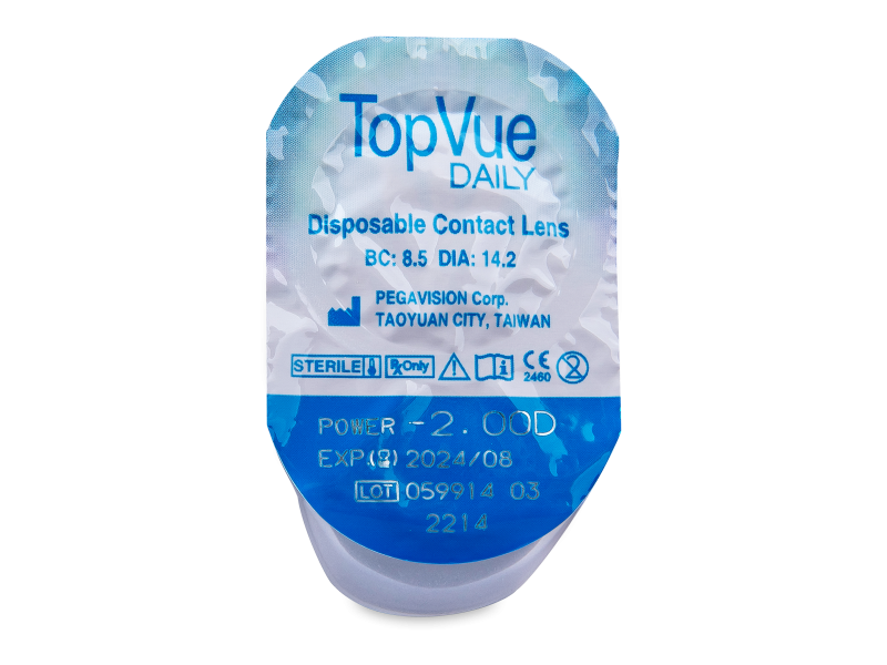 TopVue Daily (30čoček)
